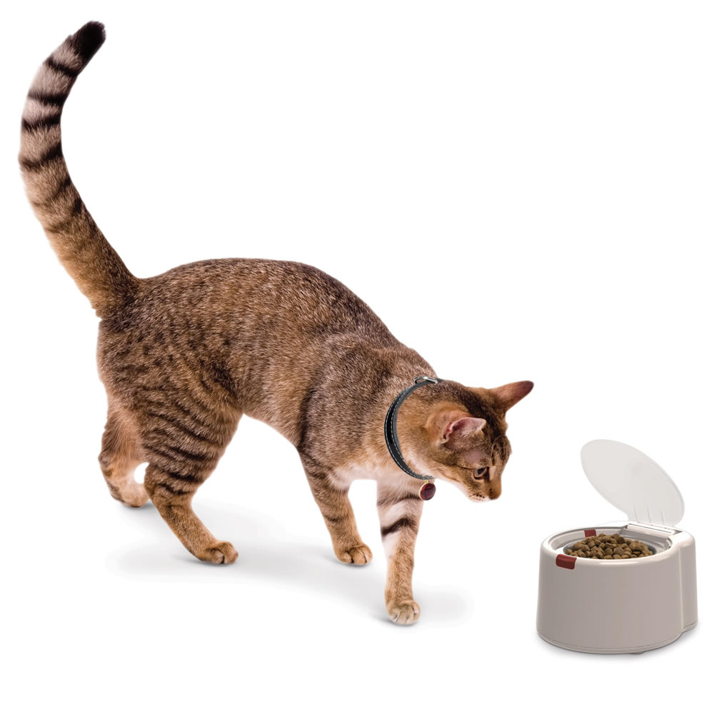 The Microchip Activated Pet Feeder 2