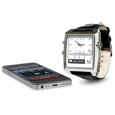 The Voice Command Smartphone Watch.