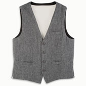 The Genuine Irish Tweed Vest.