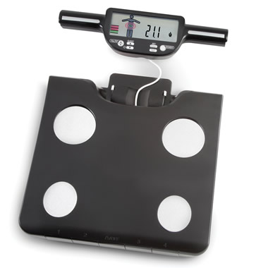 The Specific Area Body Composition Scale.