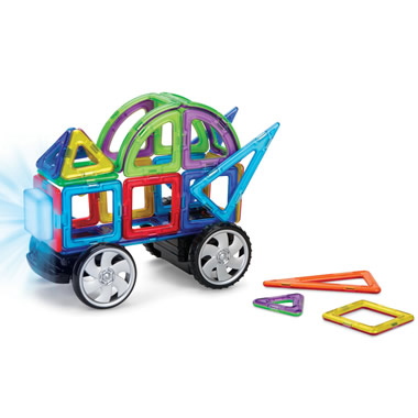 The RC Lighted Magnetic Construction Set.
