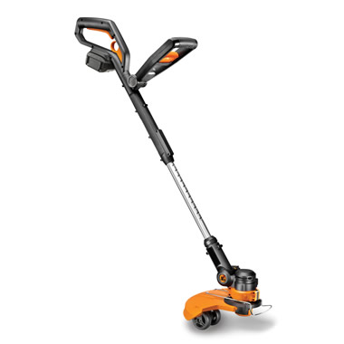 The Lightweight Rechargeable Yard Trimmer.
