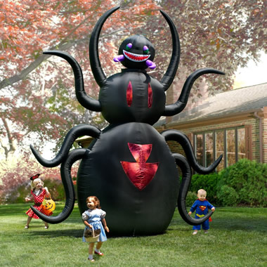 The 12' Inflatable Animated Spider.