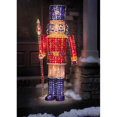 The 5 Foot Jeweled Nutcracker.
