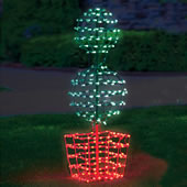 "The 56"" Twinkling Orb Topiary."