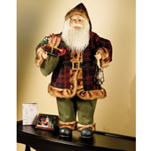 The Motion Activated 3 Foot Animated Santa.