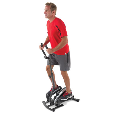The Compact Elliptical Trainer.