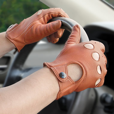 The Gentleman's Deerskin Driving Gloves.