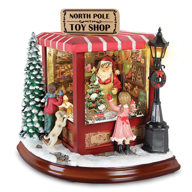 The Animated Musical Santa's Toy Shop.