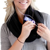 The Traveler's Hands Free Wrap.