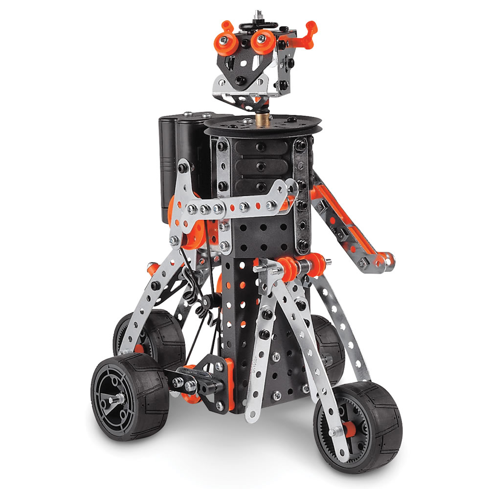 Best Meccano Sets And Toys For Kids : The genuine motorized erector set hammacher schlemmer