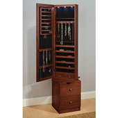 The Swiveling Jewelry And Accessories Armoire.