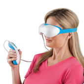 The Strain Relieving Eye Massager.