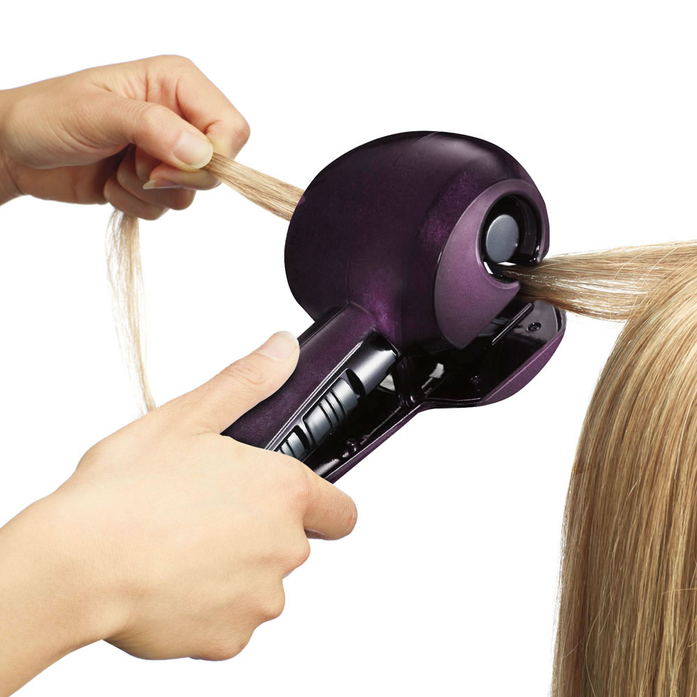 The Time Saving Volumizing Hair Curler2
