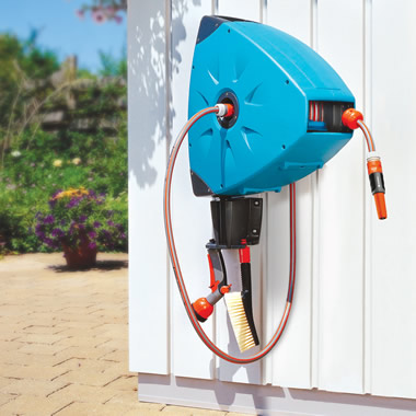 The One Tug Automatic Hose Reel.