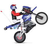 The Gyro RC Stunt Motorcycle.