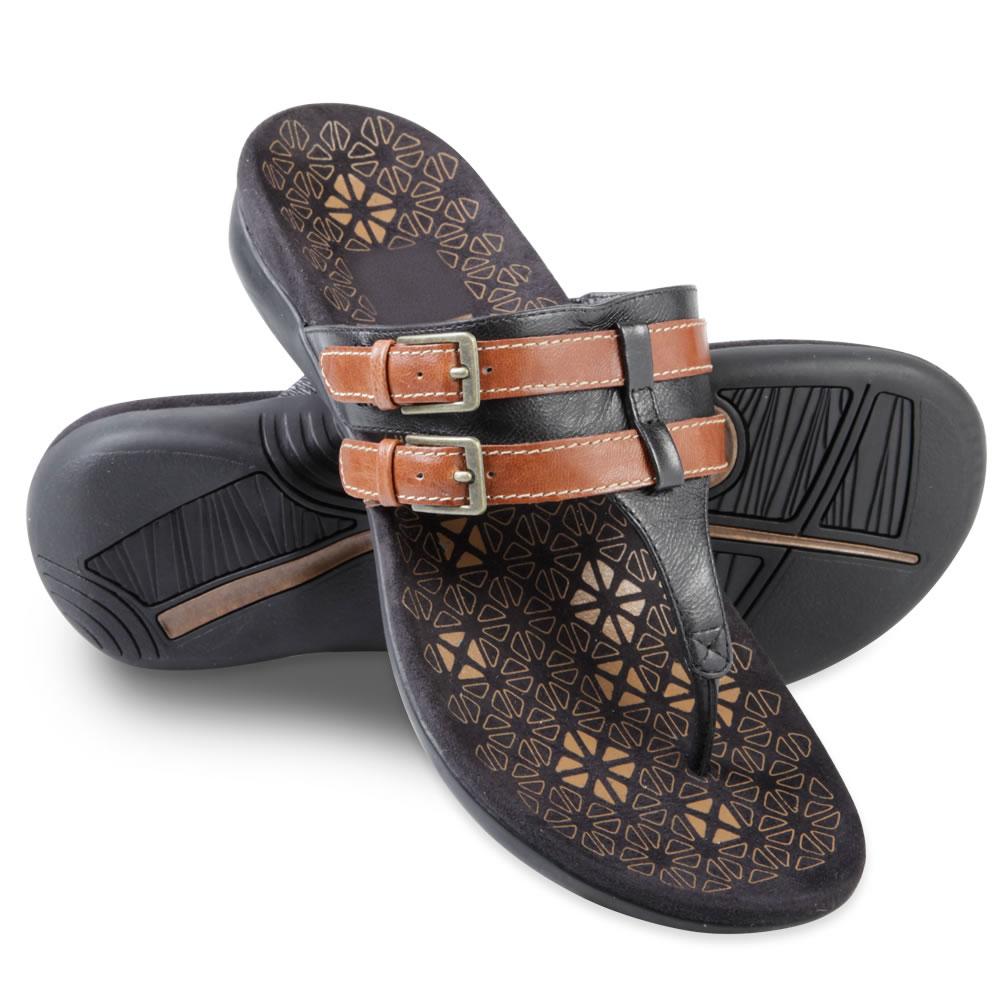 Amazing Vionic Orthaheel Womens Plantar Fasciitis Wedge Flats Shoes Tan Brown Size 7 | EBay