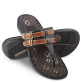 The Lady's Plantar Fasciitis Adjustable Sandals.