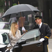 The Classic Doorman's Umbrella.