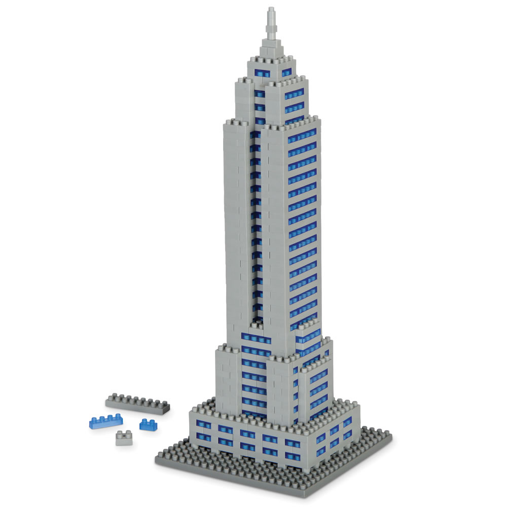 The Empire State Building Micro Block Set1
