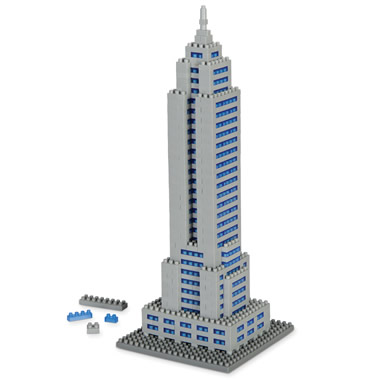 The Empire State Building Micro Block Set.