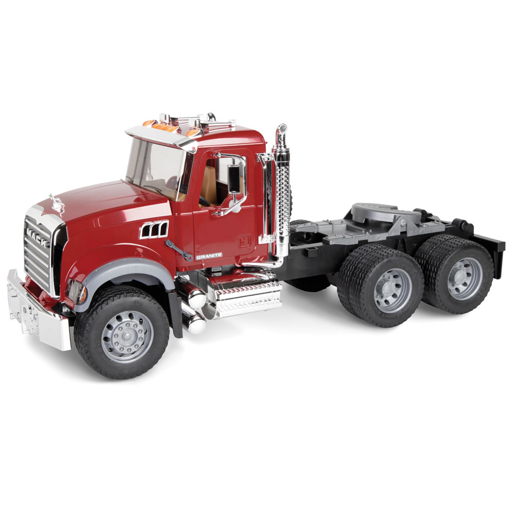 The Mack Truck With Backhoe Loader 3