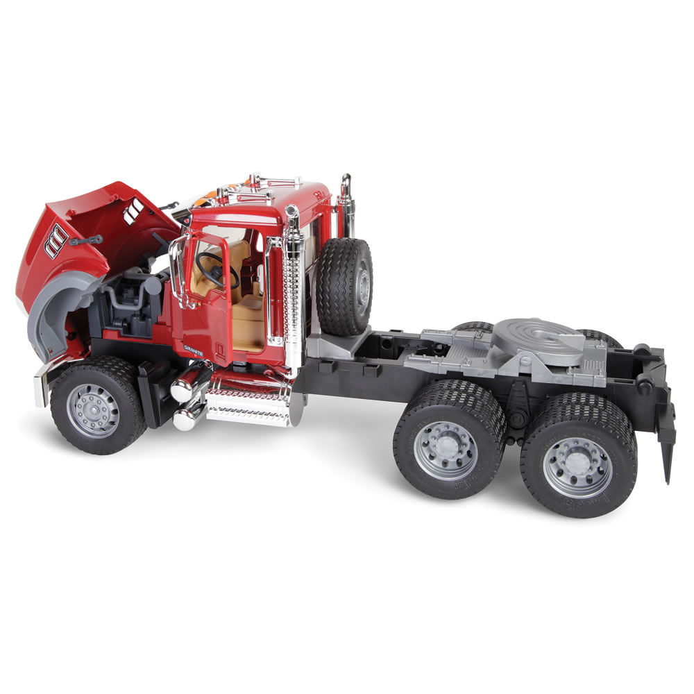 The Mack Truck With Backhoe Loader 5