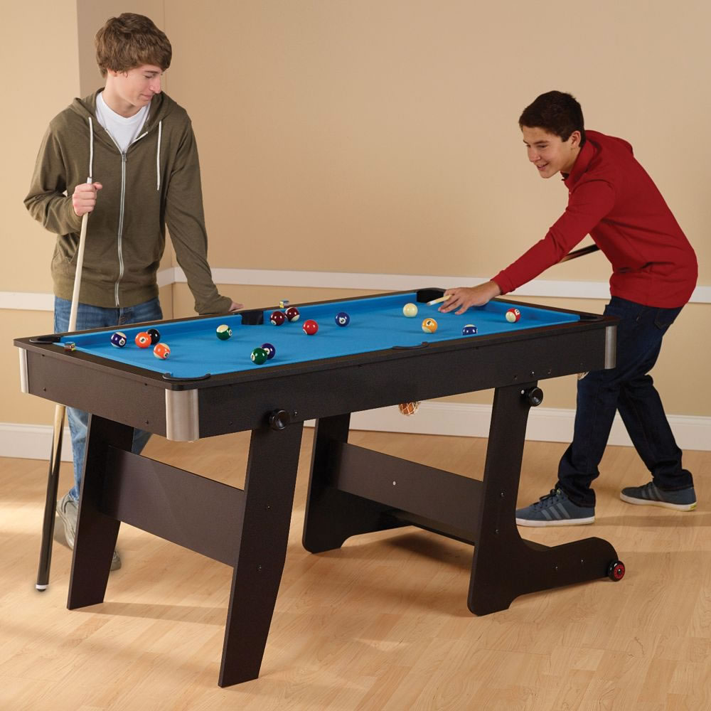 The Foldaway Pool Table 1