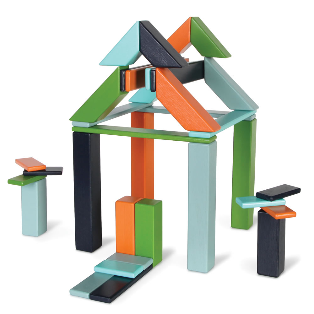 The Magnetized Wooden Blocks Set4