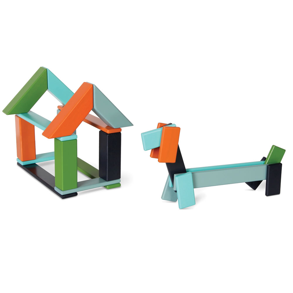 The Magnetized Wooden Blocks Set 6
