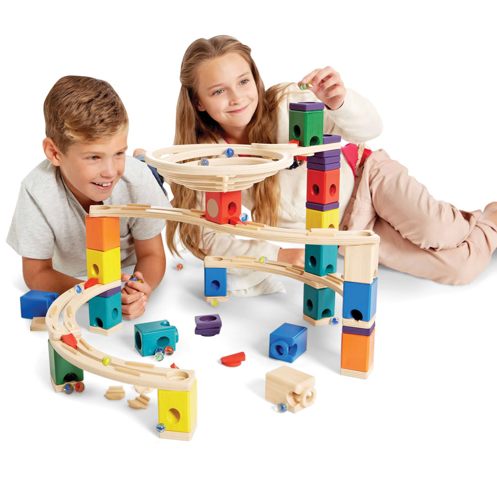 The Wooden Musical Marble Run 3