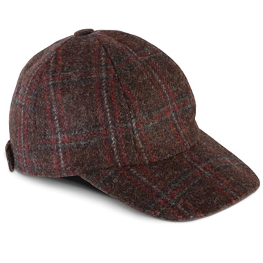 The Genuine Irish Tweed Ball Cap.