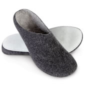 The Austrian Wool Slippers.