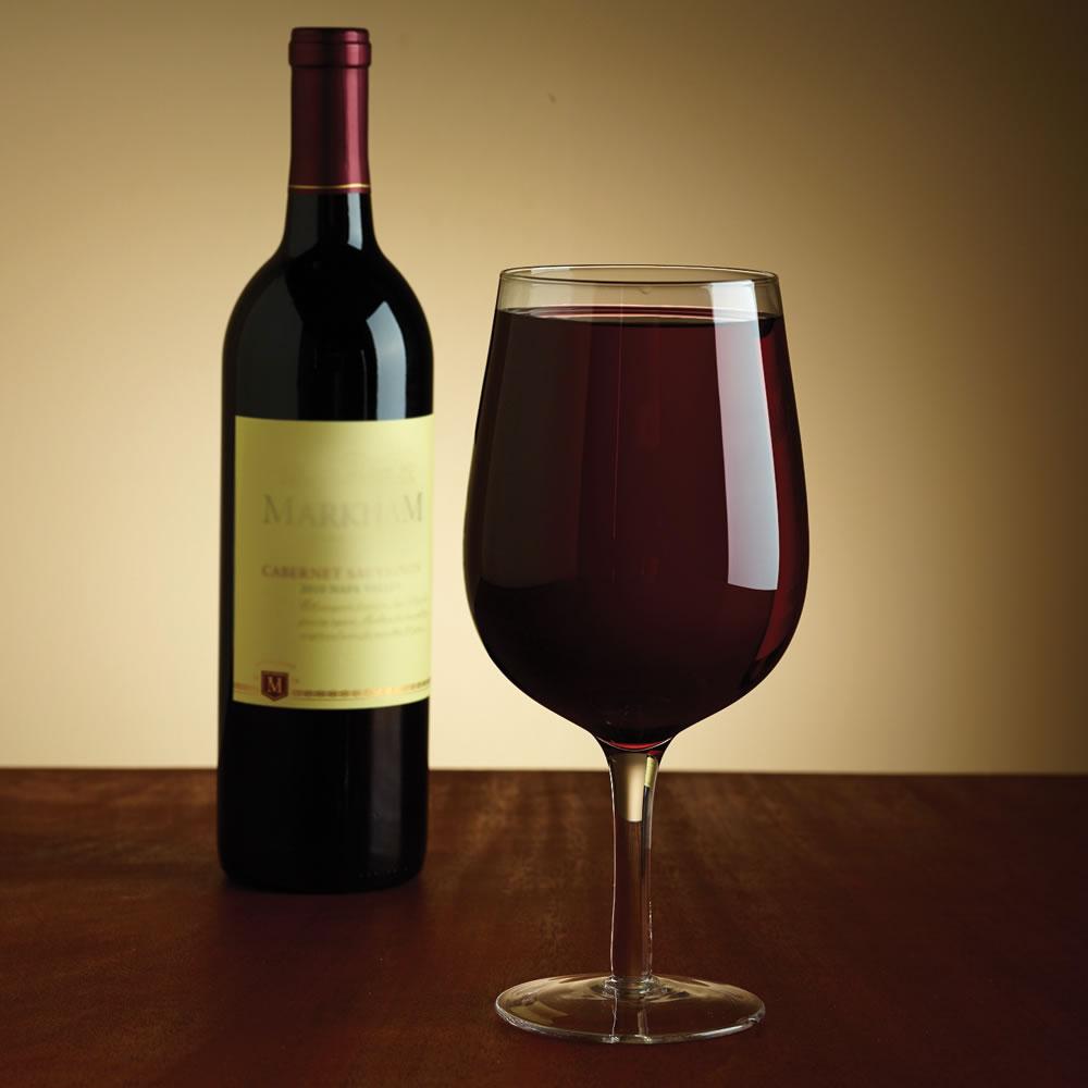 Wine Glass With Wine Part - 20: Hammacher Schlemmer