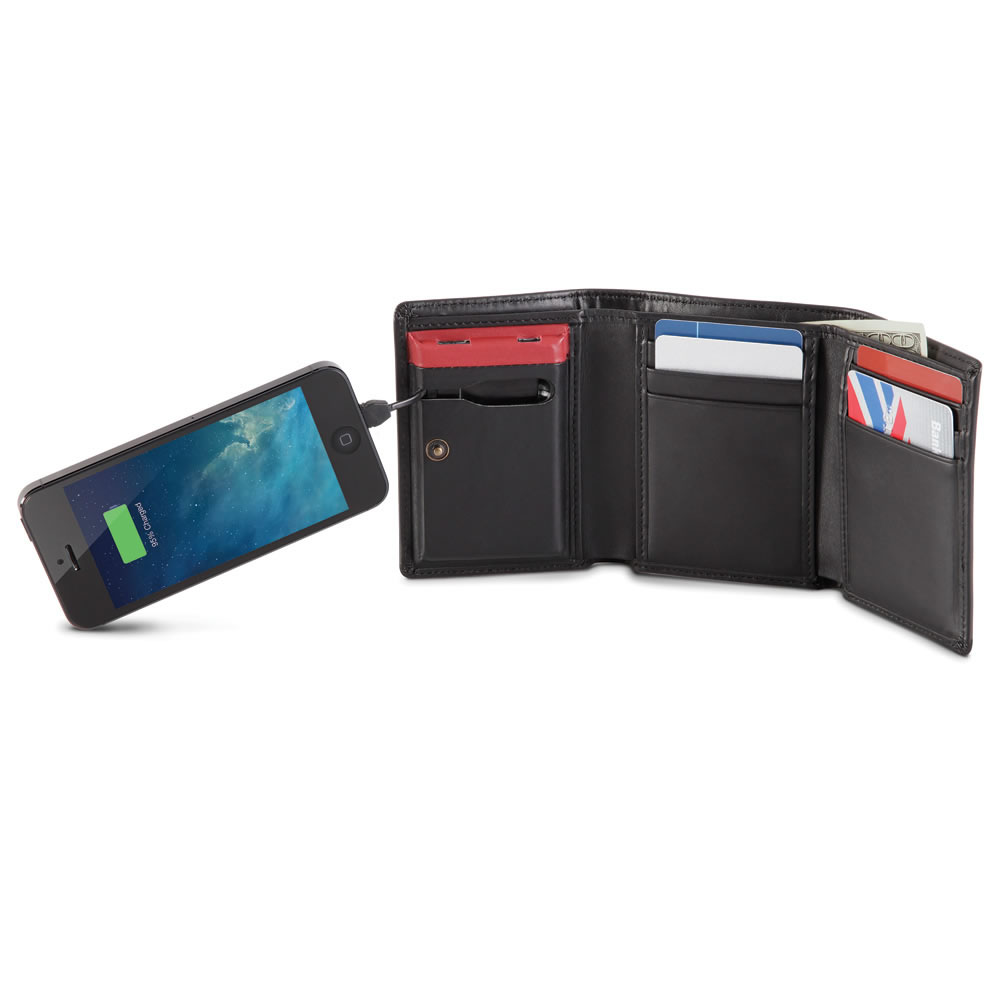 The Smartphone Charging Wallet 1