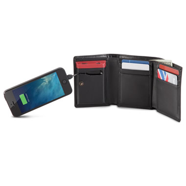 The Smartphone Charging Wallet.