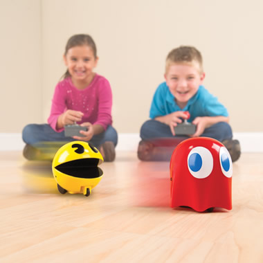 The RC Pac-Man Racer Chasers.
