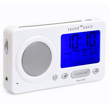 The Travel Sleep Sound Generator.