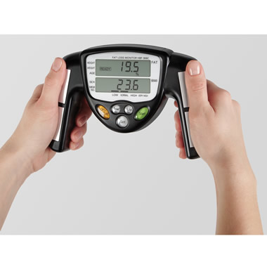 The Superior Handheld Body Fat Analyzer.