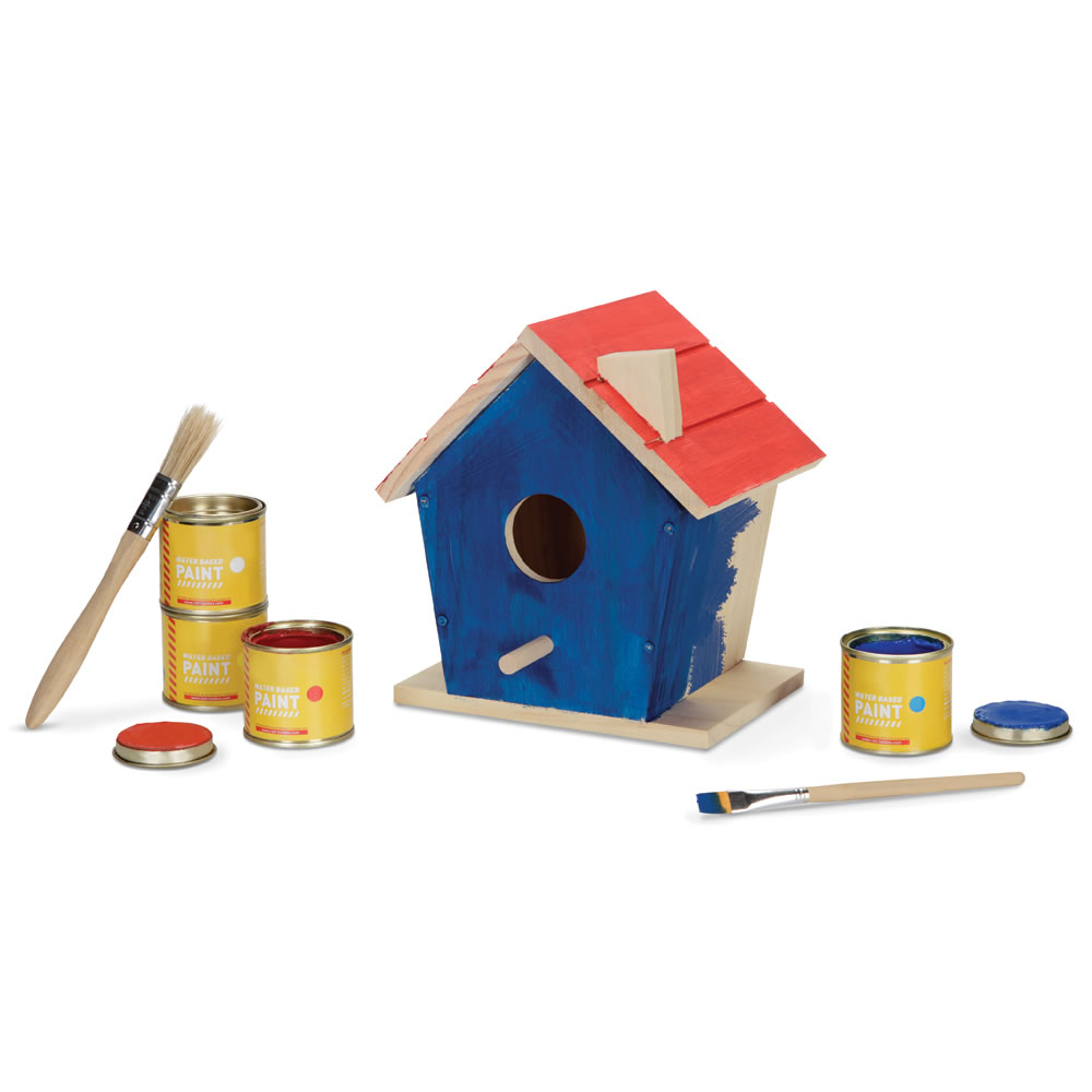 The Construct and Paint Birdhouse 2