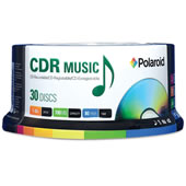 30 CD-R Music CDs.