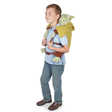 The Yoda Backpack.
