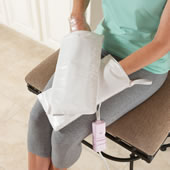 The Skin Rejuvenating Spa Mitts.