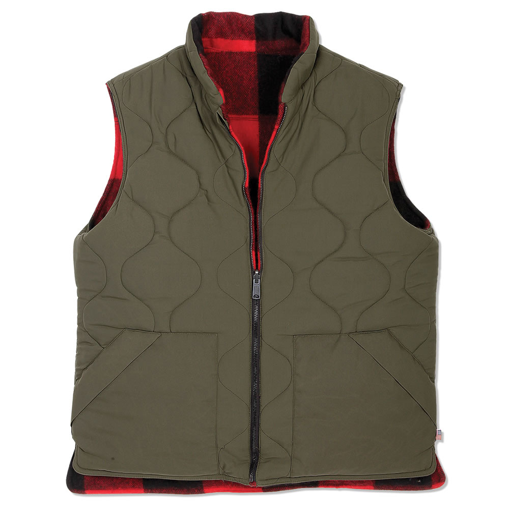 The Classic Buffalo Plaid Wool Vest 2