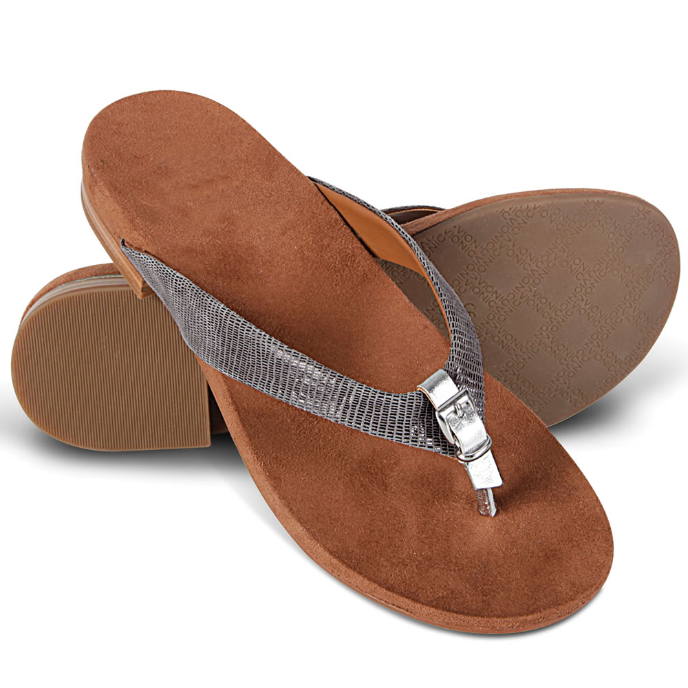 The Lady's Plantar Fasciitis Buckled Sandals 1