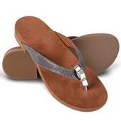 The Lady's Plantar Fasciitis Buckled Sandals.