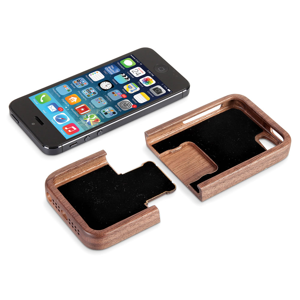 The Solid Walnut iPhone 5 Case 4