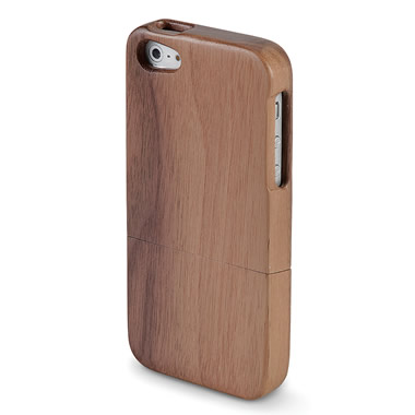 The Solid Walnut iPhone 5 Case.