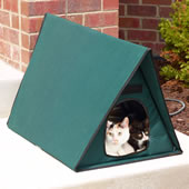 The Only Outdoor Heated Multi Cat Shelter.