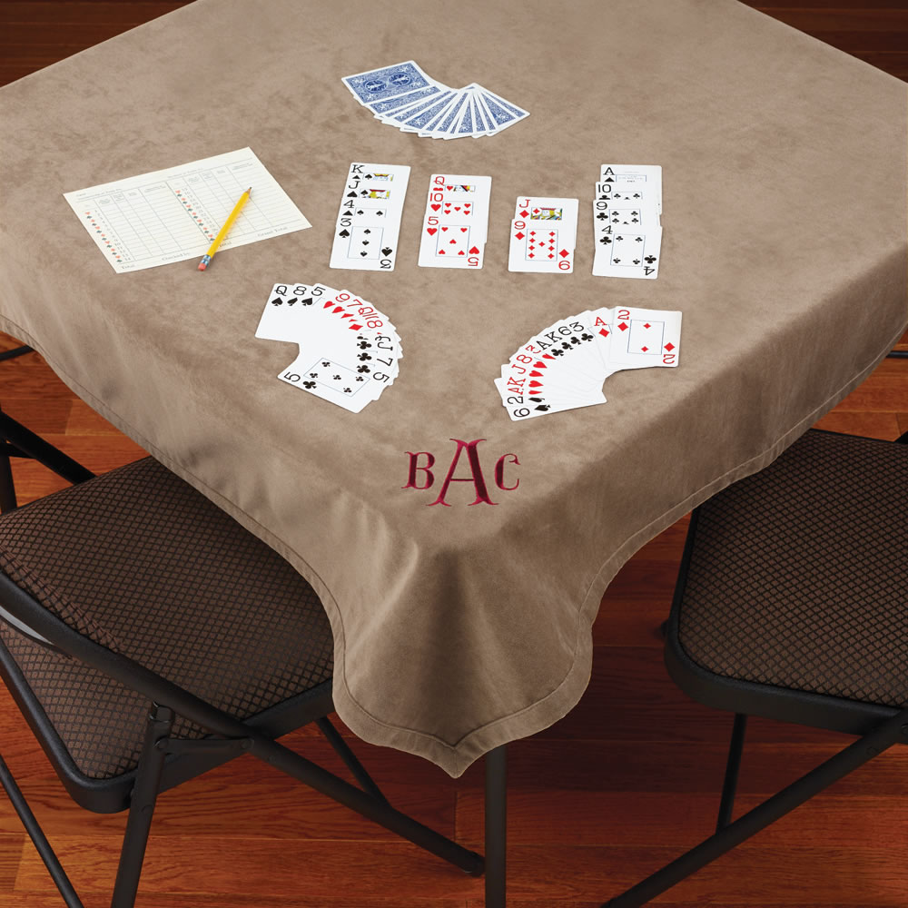 The Microfiber Bridge Table Cover 1